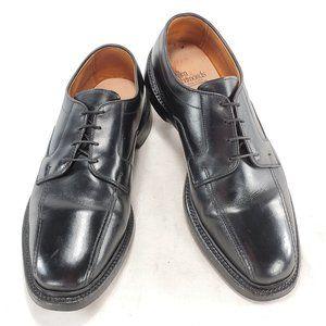 Allen Edmonds Hillcrest Black Leather Derby Shoes
